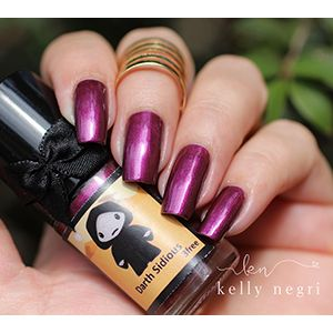 Esmaltes da Kelly- Star Wars- Darth Sidious