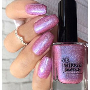 Wikkid- Holo- Sweet as Candy Pink (H)