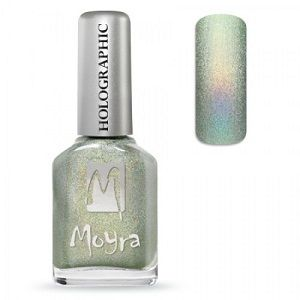 Moyra Holographic Effect Nail Polish- No253 Gold