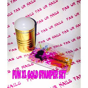 Fab Ur Nails- FUN XL Stamper Opaque White