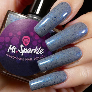 Ms. Sparkle- 5 Shades of Gray- Gray or Blue