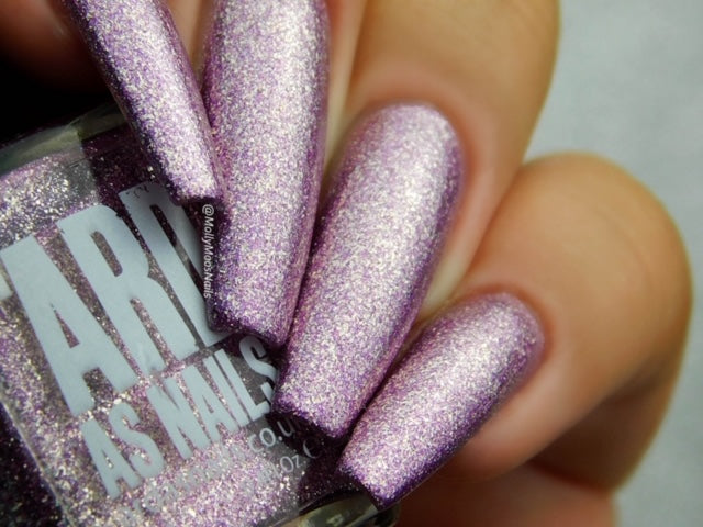 'Ard As Nails- Oh So Sparkly- Purple Haze