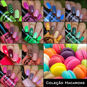 Esmaltes da Kelly- Macarons- Full Collection