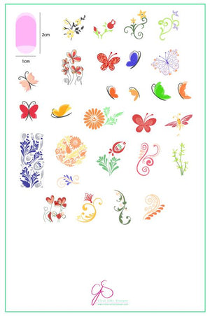 Clear Jelly Stamper- CjS-023- Serendipity