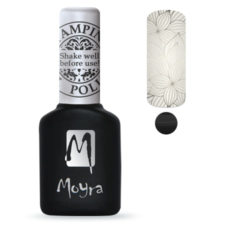 Moyra Foil Gel Polish- Black