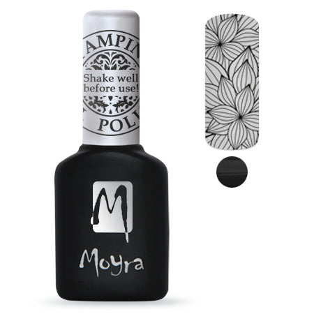 Moyra Stamping Gel Polish- Black SGP01