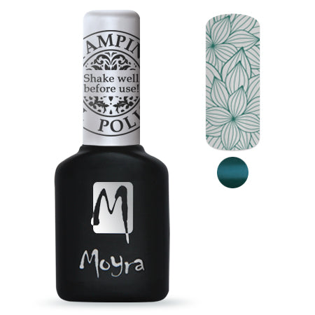 Moyra Stamping Gel Polish- Green SGP08