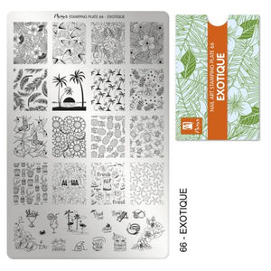Moyra Stamping Plate 066- Exotique