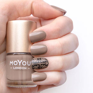MoYou London- Stamping Polish- Cappuccino