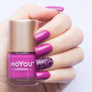 MoYou London- Stamping Polish- Party Pink