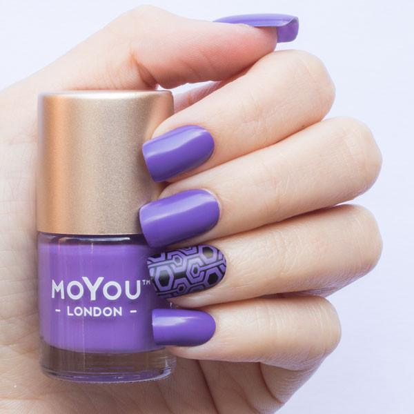 MoYou London- Stamping Polish- Purple Punch