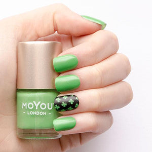 MoYou London- Metallic Stamping Polish- Shamrock