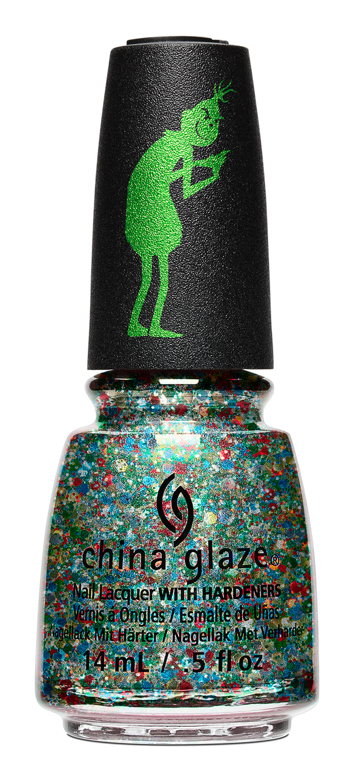 China Glaze- The Grinch- Resting Grinch Face