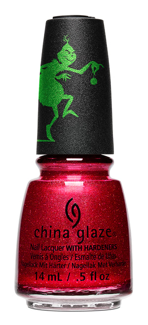 China Glaze- The Grinch- Ho! Ho! No