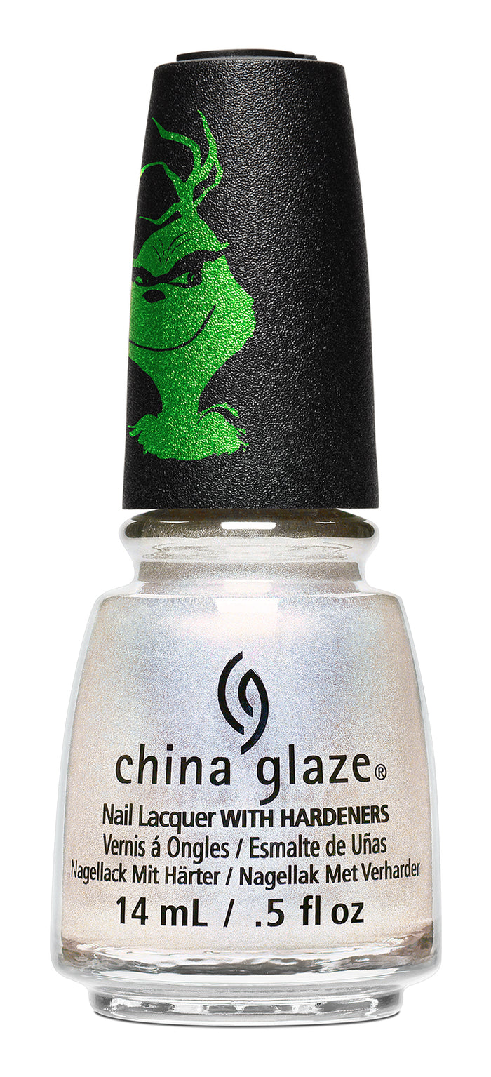 China Glaze- The Grinch- Luke Warm Wishes