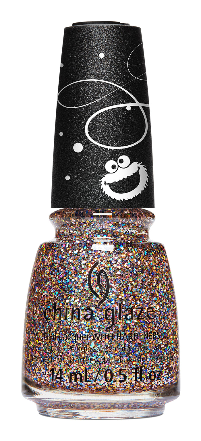 China Glaze- Sesame Street Holiday- #THISISMYSTREET