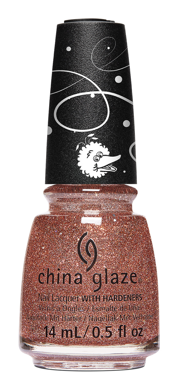 China Glaze- Sesame Street Holiday- 50 Shimmering Years