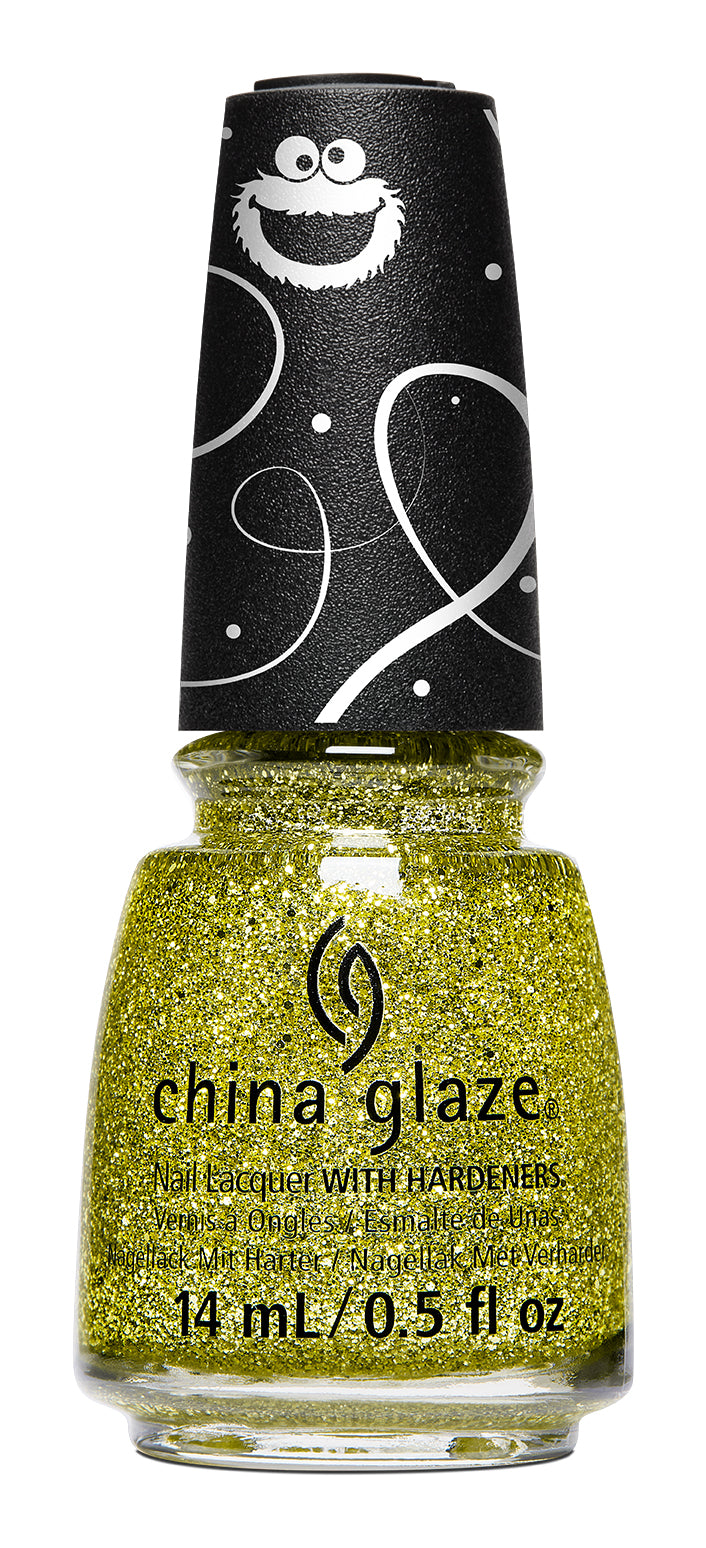 China Glaze- Sesame Street Holiday- Cele-bert
