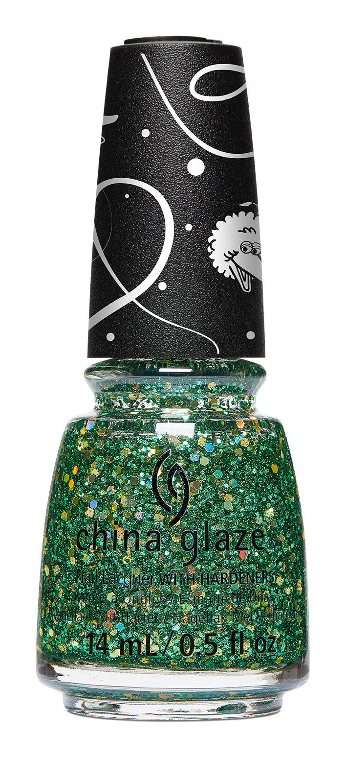 China Glaze- Sesame Street Holiday- A Grouchy New Year