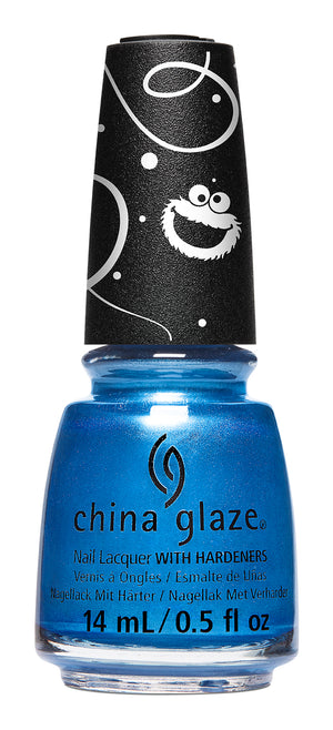 China Glaze- Sesame Street Holiday- Me Ate Santa's Cookies
