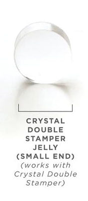 Clear Jelly Stamper- Double Stamper Small End Replacement Jelly
