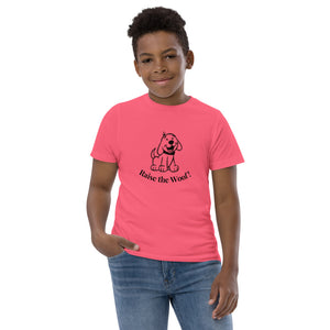 Youth T-Shirt - Puppy Raise the Woof