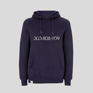 SAMPLE 303:808:909 Pullover Hoody - Navy
