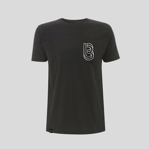 Bedrock ClassiXX Series Restructured B T-shirt Black