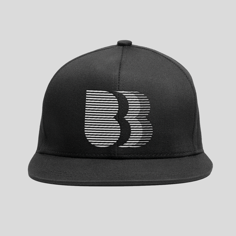 Bedrock LA Snapback Hat in Black