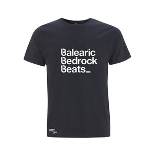Baleric Beats Mens T-Shirt - Navy