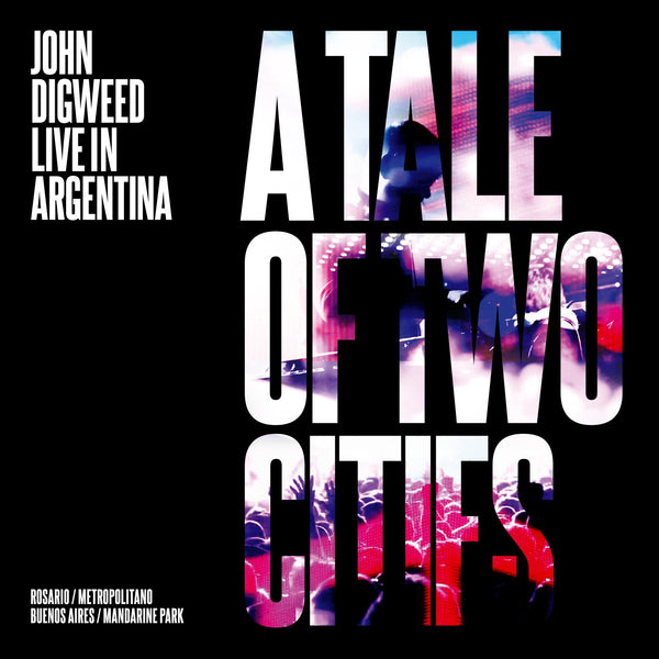 John Digweed ' A Tale Of Two Cities ' DVD from Live in Argentina Exclusive to the Bedrock store