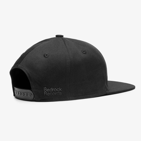 Bedrock Restructured Snapback Hat in Black