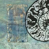 Ammonite VIII, IX, X triptych original artwork by lyric montgomery kinard
