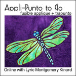Online Course: Apli-Punto to Go - fusible appliqué + trapunto