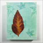 Original Artwork: Glory XVII one red leaf