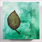 Original Artwork: Glory XXII one green leaf