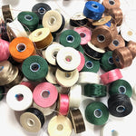 C-Lon and Nymo Beading Thread: 6 random colors