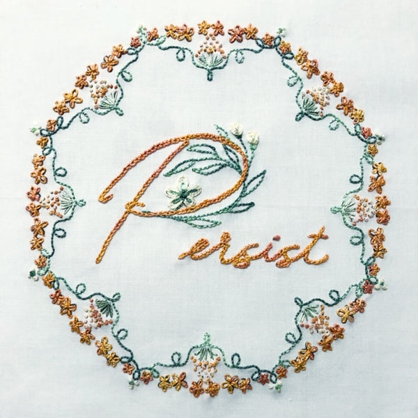 Embroidery Kit: Persist