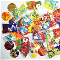 Fiesta Bead Kit: beads, thread, needle, cabochon