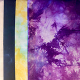 Apli-Punto to Go online class Kit: mottled grape, mottled yellow, deep purple
