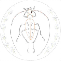 Embroidery Kit by Lyric Kinard All Buggy - Longhorn Beetle