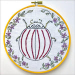 Embroidery Kit by Lyric Kinard All Buggy - Ladybeetle