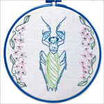 Embroidery Kit by Lyric Kinard All Buggy Mantis