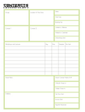 2021 Creative Educators Yearly Planner - PDF file for printing at home digital download