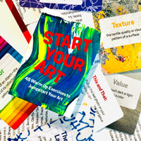 Card Game Start Your Art: warm ups for artists