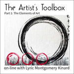 Online Course: The Artist's Toolbox part 1: the elements of art with Lyric Kinard