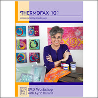 Thermofax 101 Screen Printing Made Easy,  DVD Workshop