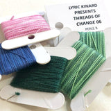 Lyric Kinard Embroidery Kit Threads of Change GO HIGH