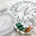 Lyric Kinard Embroidery Kit Threads of Change CHOOSE LOVE