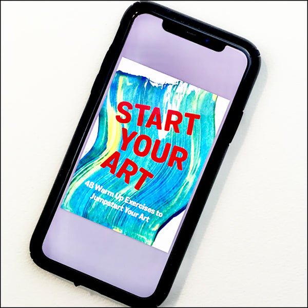 Start Your Art digital download card deck